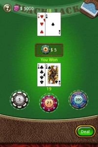 blackjack voor android